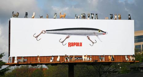 20 carteles de publicidad exterior que tienen la 39 sart n cogida por el mango 39 en t rminos de - Carteles publicitarios originales ...