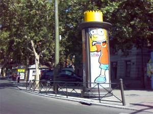 30 simpáticos anuncios inspirados en Los Simpson con los que verá todo de color amarillo