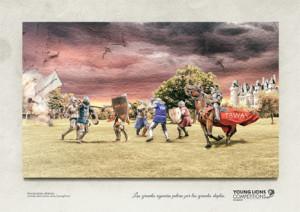 La publicidad es un sangriento campo de batalla y esta bélica campaña presentada en El Sol 2014 lo demuestra