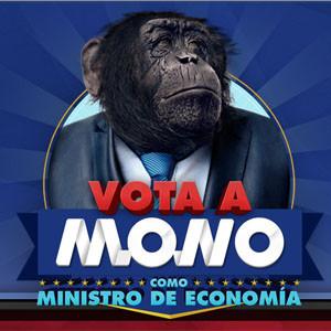Un mono se presenta como candidato a Ministro de Economía a través de un vídeo en YouTube
