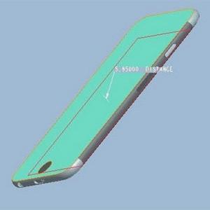 Imágenes del esquema del nuevo iPhone 6 aseguran que el dispositivo será de mayor tamaño