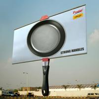 20 carteles de publicidad exterior que tienen la 'sartén cogida por el mango' en términos de creatividad