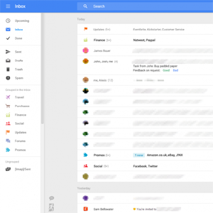 Google está probando un cambio radical en el diseño de Gmail