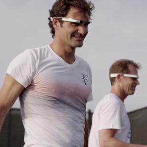 ¿Imagina ser Roger Federer? Gracias a Google Glass ya es posible