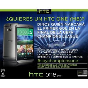 ¿Sabe quién meterá el primer gol en la final de la Champions? HTC le regala un móvil