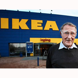 El filántropo y millonario fundador de Ikea habla de sus inicios humildes y filosofía empresarial