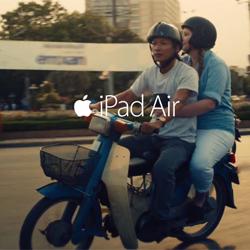 Apple lanza dos nuevos spots que muestran el lado más humano, emocional y creativo del iPad Air