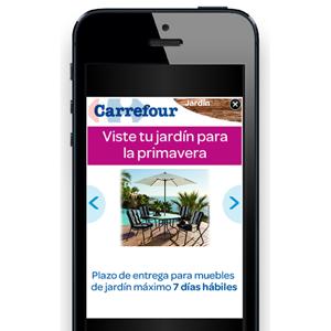 Carrefour se adelanta al verano con su nueva campaña en mobile de la mano de Starcom MediaVest Group y adQuota