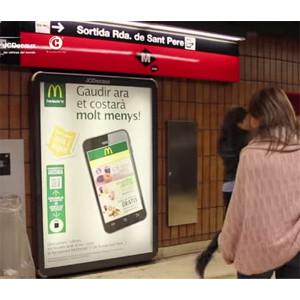 JCDecaux y psLIVE y Connecthings desarrollan la primera campaña con tecnología NFC en Metro