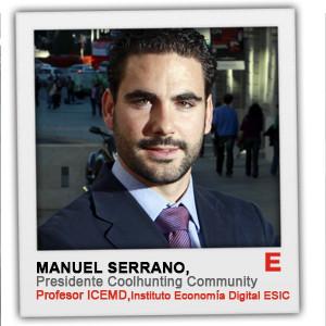 M. Serrano (Asoc. Coolhunting):