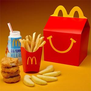 McDonald's quiere que su Happy Meal sea más