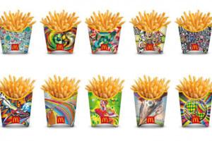 McDonald's rediseña sus paquetes de patatas para marcar los primeros goles del Mundial