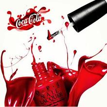 Coca-Cola se lanza al mundo de la belleza en una colaboración con la marca de esmalte de uñas OPI