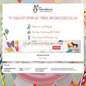 La editorial alemana G+J se pasa al e-commerce con una tienda online de artículos para fiestas infantiles