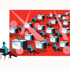 En abril, la ocupación publicitaria en TV aumenta un 10% con respecto al año pasado, según Ymedia