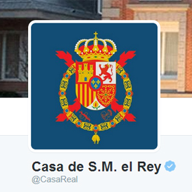 La Casa Real española se estrena en Twitter y consigue más de 9.000 seguidores en unas horas