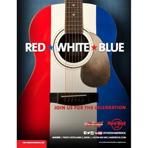 Hard Rock Cafe Madrid celebrará durante todo el 4 de julio el Día de la Independencia