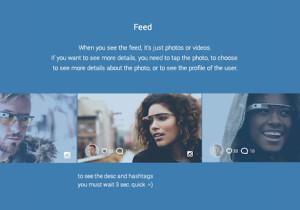 Así sería Instagram para las Google Glass
