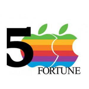 Apple conquista por primera vez el Top 5 de la revista Fortune