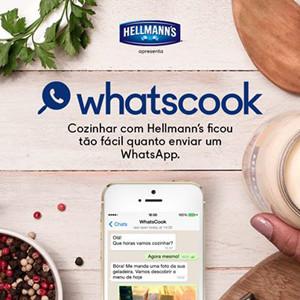 Una nueva campaña de Hellmann's enseña a cocinar a través de WhatsApp