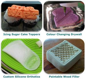 ¿Se imagina imprimir el logo de su empresa en formato 3D y en Nutella? Esta impresora lo hace posible