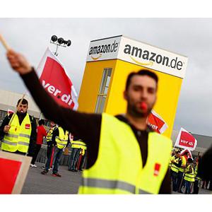 Nuevos centros de distribución de Amazon se suman a la huelga en Alemania