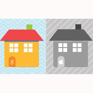 ¿Viviría en un hogar Google o en uno Apple?