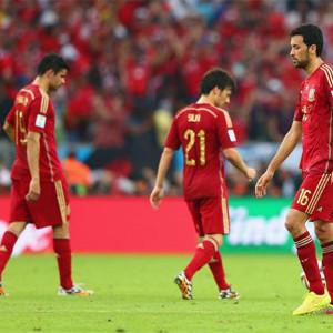 Más de 13 millones de telespectadores (67,6% de share) asistieron ayer al descalabro de La Roja en el Mundial