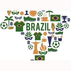 El Mundial de fútbol de Brasil se convierte en el evento deportivo más social de todos los tiempos