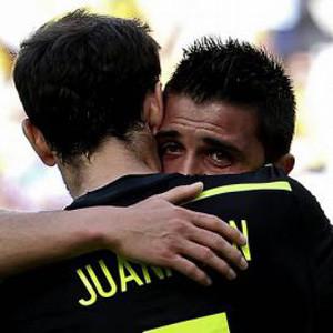 Villa se despide en el España-Australia con casi 30.000 tuits por minuto