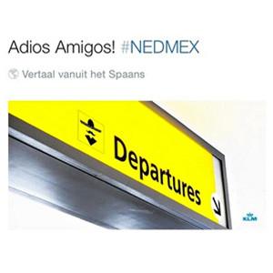 KLM destapa la caja de los truenos con un controvertido tuit sobre la eliminación de México en el Mundial