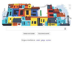 doodle google favelas