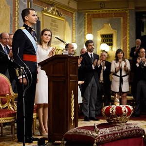 La ceremonia de proclamación de Felipe VI sentó a más de 5,5 millones de espectadores frente al televisor