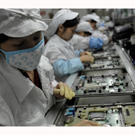 Los fabricantes de Apple amplían notablemente sus plantillas para hacer frente a la producción del iPhone 6