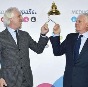 Mediaset cumple diez años cotizando en Bolsa y hace balance de su arriesgada inversión en el Mundial