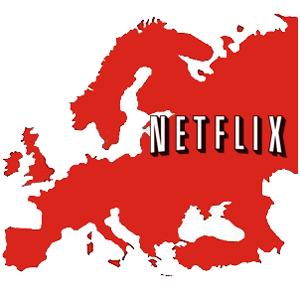 Netflix deja fuera a España en su desembarco en Europa