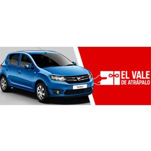 Dacia se vincula a Atrápalo y a las compras inteligentes