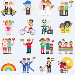 Facebook celebra el Orgullo con nuevos stickers