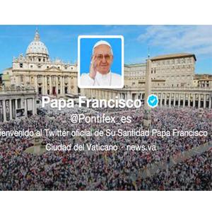 El Papa Francisco es la persona más influyente en Twitter y la abdicación lo más comentado