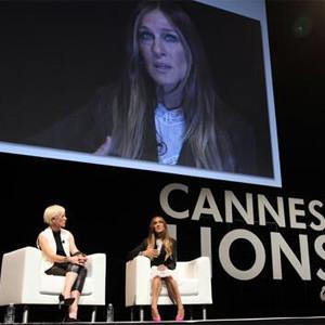 Anuncios y zapatos pasan por el altar en Cannes Lions 2014 de la mano de Sarah Jessica Parker