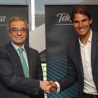 Telefónica ficha a Rafa Nadal como embajador de la marca a nivel mundial