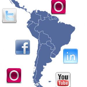 En Latinoamérica las redes sociales se utilizarán tanto como en Estados Unidos y Europa Occidental durante el Mundial