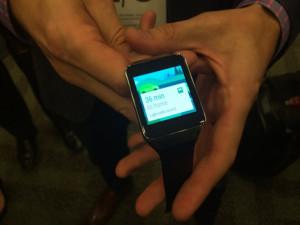 Así es el nuevo smartwatch de Samsung