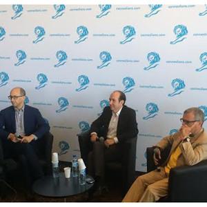 ¿Son las redes sociales la nueva TV? 3 titanes de los medios debaten sobre el futuro del sector en Cannes Lions