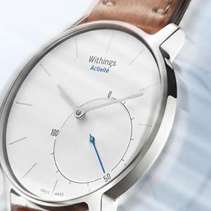 Withings Activité es el smartwatch que apuesta por la apariencia tradicional