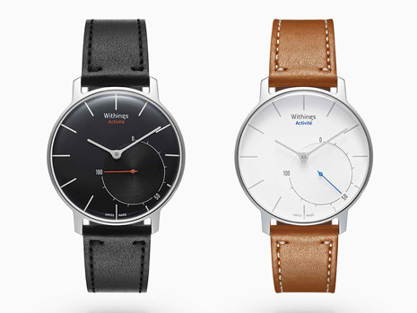 withings activité dos colores