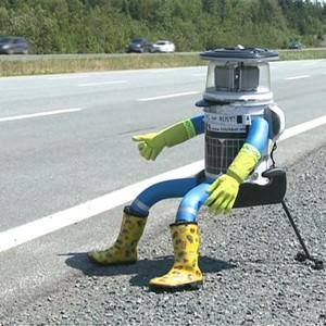 HitchBOT, el robot que quería recorrer Canadá haciendo autostop