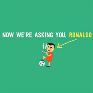 Una campaña pide a Ronaldo que se rape la cabeza para convertirse en el héroe que no pudo ser en el Mundial