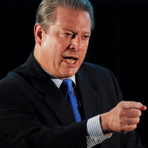 Former US Vice President, Al Gore, speaks at the launch of FEX-SIM