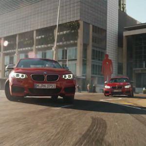 Cinco coches BMW se marcan un espectacular número de baile en este soberbio anuncio